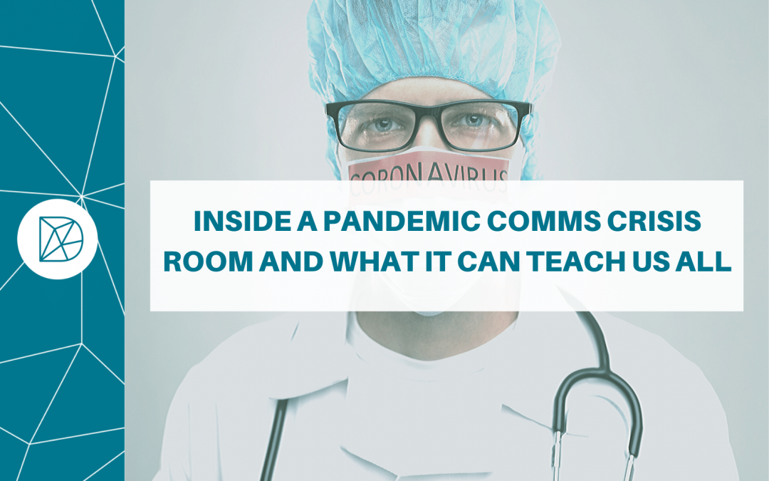 Inside a pandemic comms crisis room